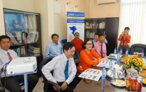 Ủy ban Nhân dân quận Bình Thạnh - Hiệp hội doanh nghiệp quận Bình Thạnh thăm hỏi chúc tết công ty Hữu Lộc XUÂN MẬU TUẤT 2018