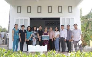 Công ty Hữu Lộc cùng quỹ từ thiện Adam Khoo trao tặng 2 căn nhà tình thương tại Tỉnh Bạc Liêu