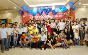 Tiệc tất niên công ty Hữu Lộc năm 2018