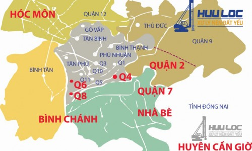 Nền đất yếu khu vực phía Nam tập trung ở đâu?