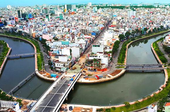 Kênh Nhiêu Lộc Thị Nghè - TP HCM